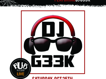 Pier Entertainment Presents... #PhillyMusicRoom Costume Edition featuring DJ G33k