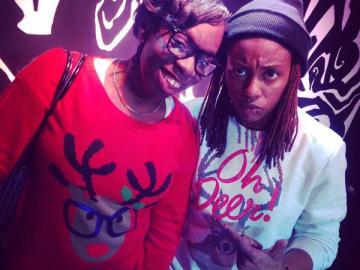 DJ G33k and Marceline Marie, #G33kNight 3.0 Ugly Sweater Edition