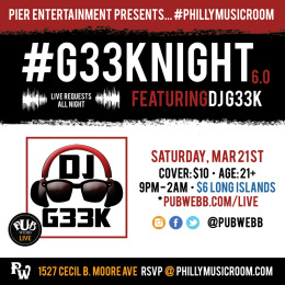 #G33kNight 6.0: Live Requests!