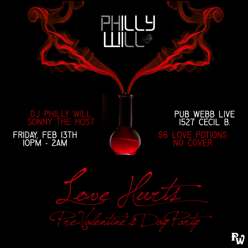 Love Hurts featuring DJ Philly Will