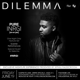 Philly Music Room Presents Dilemma: PURE INRGI