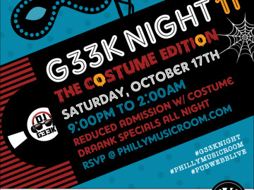 #G33kNight 11: The Costume Edition