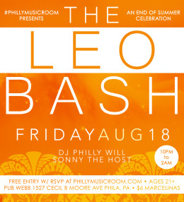 Philly Music Room Presents THE LEO BASH Part II