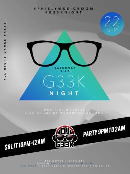 #G33kNight 28